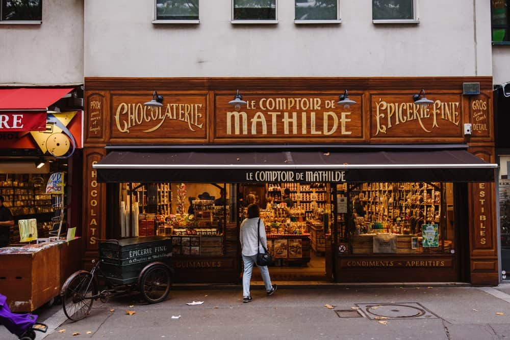 Parisian Confectionery and Chocolate Shop